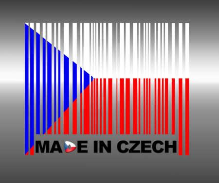 Barcode Czech Republic. photo