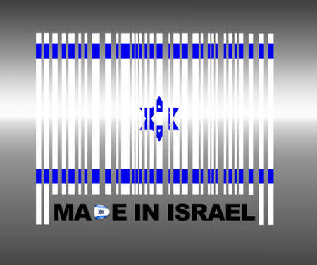 Barcode Israel. Stock Photo - 13194765
