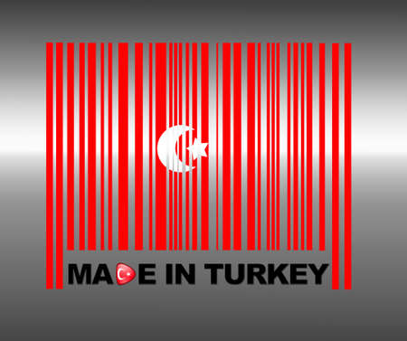 Barcode Turkey. photo