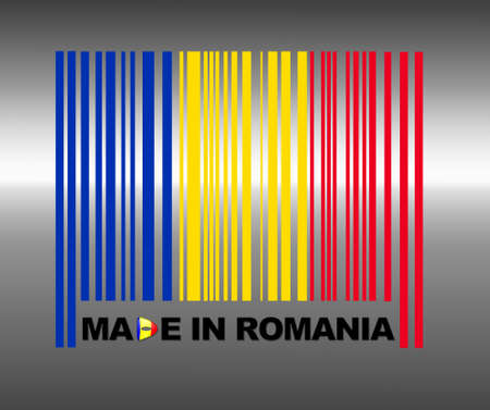 Barcode Romania. photo