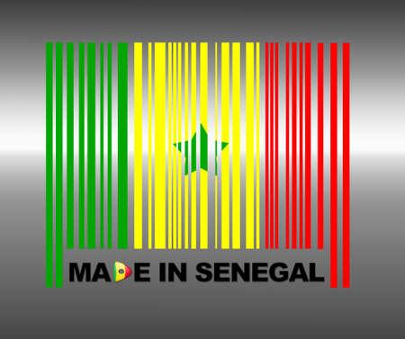 senegal: Barcode Senegal.