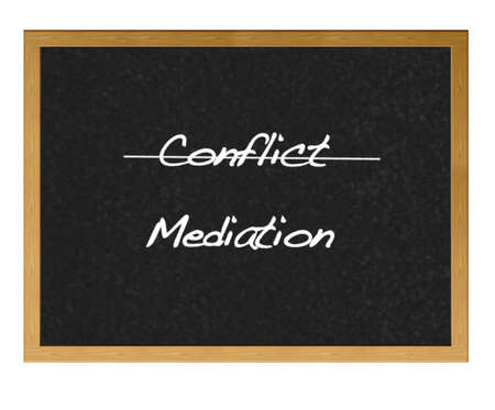 mediator: Isolated blackboard with conflict