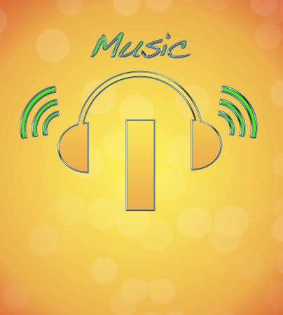 I, music logo. Stock Photo - 13194869