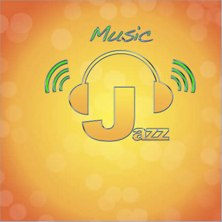 Jazz, music logo. photo