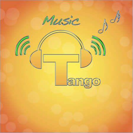 Tango, music logo. photo