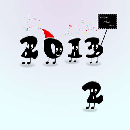 Happy New Year 2013. photo
