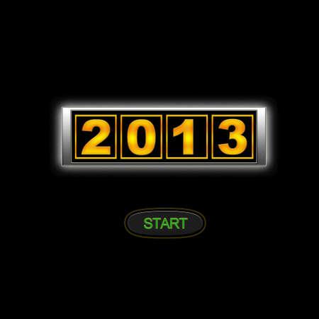 2013 start. photo