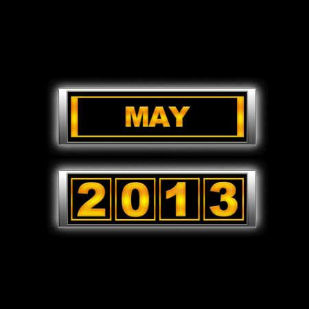 Calendar 2013, May. photo
