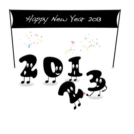 End of 2012. Stock Photo - 13268541