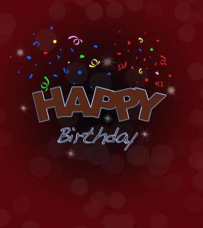 Happy birthday. Stock Photo - 13268542