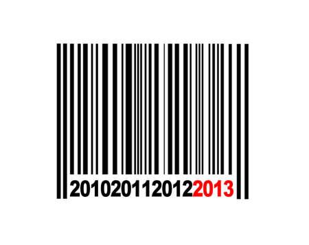 Barcode 2013. Stock Photo - 13303188