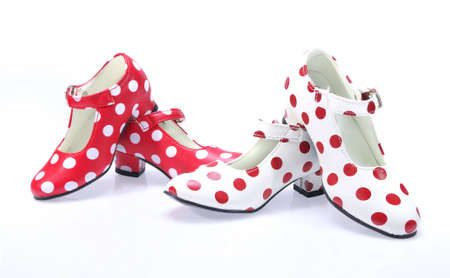 Polka dots Shoes. photo