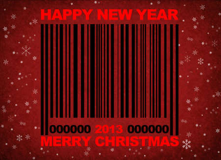 Barcode 2013. Stock Photo - 13321427