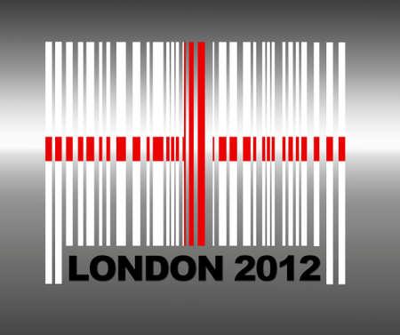 Barcode London 2012. Stock Photo - 13482491