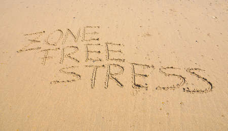 Zone free stress. photo