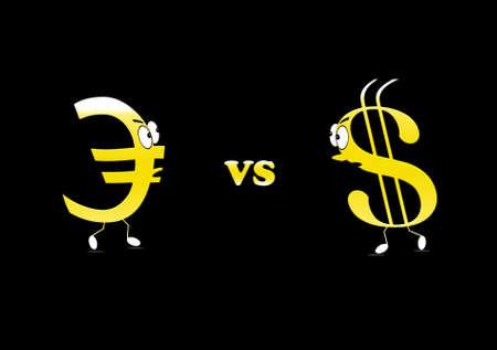 Euro vs Dollar  photo