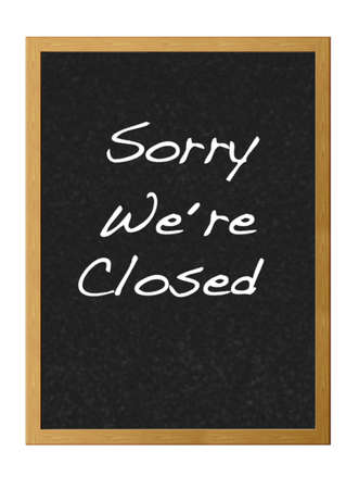 Sorry were closed. photo
