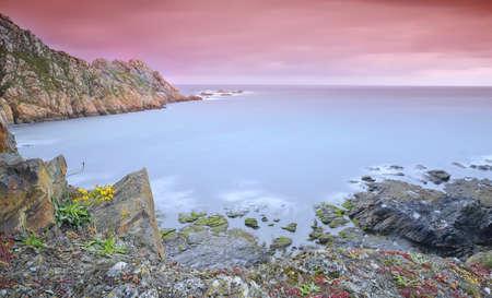 Coastal landscape in spring. Stock Photo - 13831224