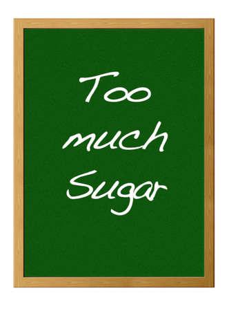 aussi: Tableau d'isolement avec trop de sucre.