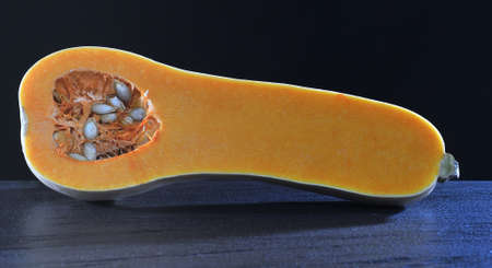 Elongated squash. photo