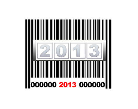 Barcode 2013. Stock Photo - 14375456