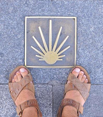 peregrinación: Peregrinaci�n a Santiago