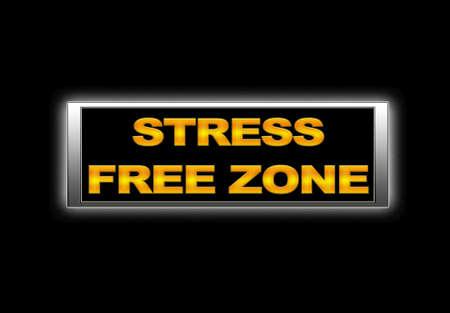 Stress vrije zone. Stockfoto - 14723802