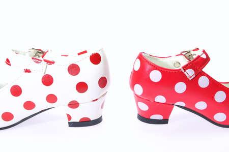 Flamenco shoes. photo