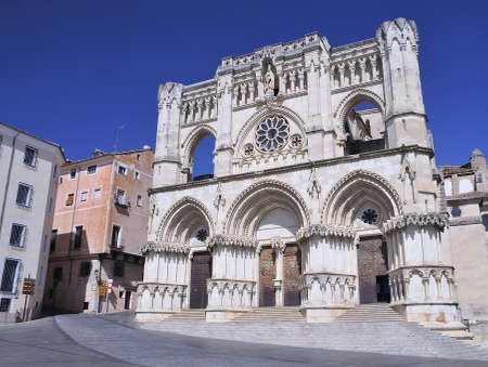 cuenca: Cuenca cathedral, Spain  Stock Photo