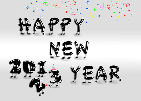 Happy new year 2013  Stock Photo - 14799775