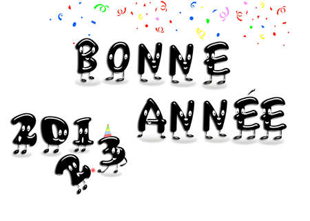 Bonne annee 2013. photo