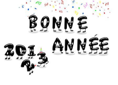 Bonne annee 2013. Banque d'images - 14799749