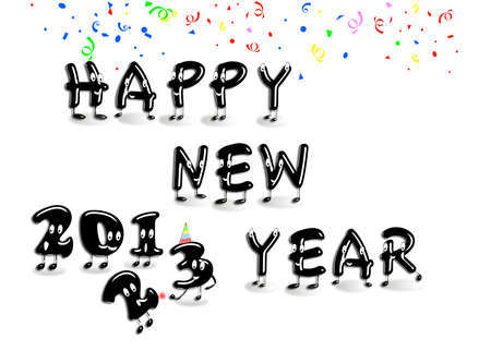 Happy new year 2013  Stock Photo - 14856800