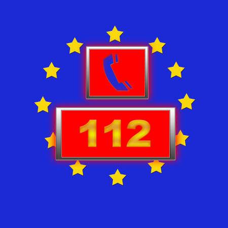 112 Europe. photo