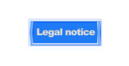 webmater: Illustration of a button to legal notice
