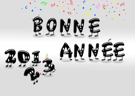 Bonne annee 2013  Stock Photo - 15233899