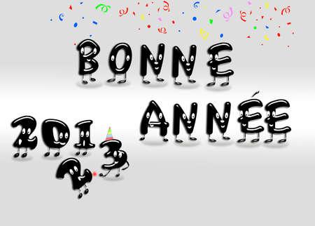 Bonne annee 2013 Stock Photo - 15233899