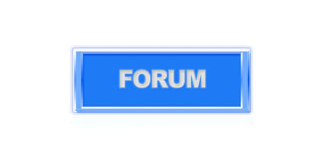 Illustration of a button to forum site  Stock Illustration - 15473737
