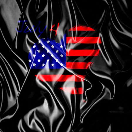 USA heart Stock Photo - 15830190