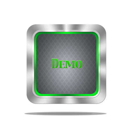 Demo button Stock Photo - 16693158