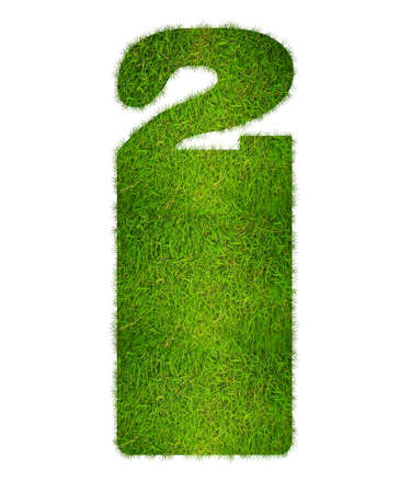 Illustration with sign hotel grass  on white background  illustration