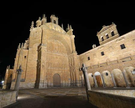 Convent of St Esteban in Salamanca, Spain. Stock Photo - 17421629