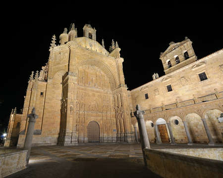 Convent of St Esteban in Salamanca, Spain. photo
