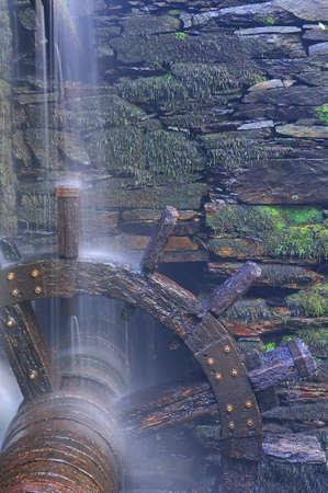 forge: Old water wheel forge in Asturias, Spain