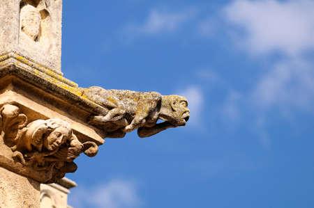 gargouille: Gargouille de la cath�drale de Burgos en Espagne