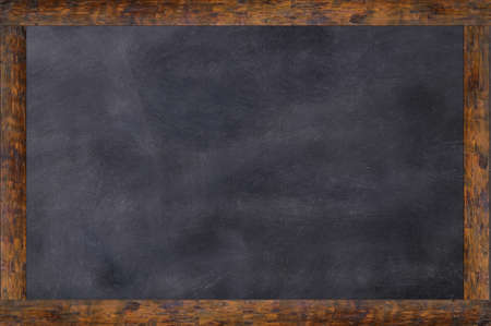 space for writing: Blackboard as background and with space for writing Stock Photo