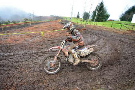 cross country: VILLAVICIOSA, SPAIN - MARCH 20:  Unidentified rider participate in  RFME Spain Championship Cross Country in March 20, 2016 in Villaviciosa, Spain.
