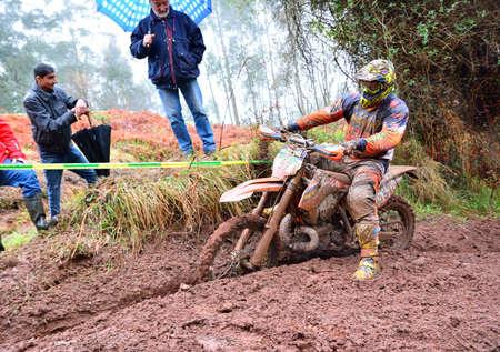spain championship: VILLAVICIOSA, SPAIN - MARCH 20:  Unidentified rider participate in  RFME Spain Championship Cross Country in March 20, 2016 in Villaviciosa, Spain.