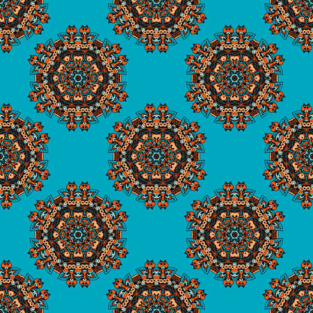 Seamless Ethnic National Pattern Vector