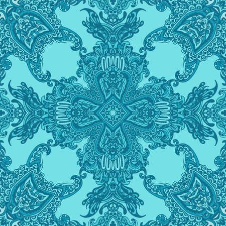 Seamless damask pattern. Classic background Illustration
